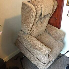 Rise and Recline Electric chair. standing. Excellent condition, rarely used. £300 .