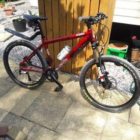 27 gear mountain bike