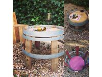 Wine Barrel Coffee table / Side table