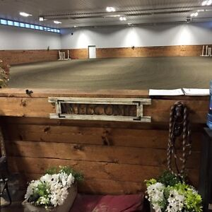 Horse board Heated indoor arena 140'X80' south of Edmonton
