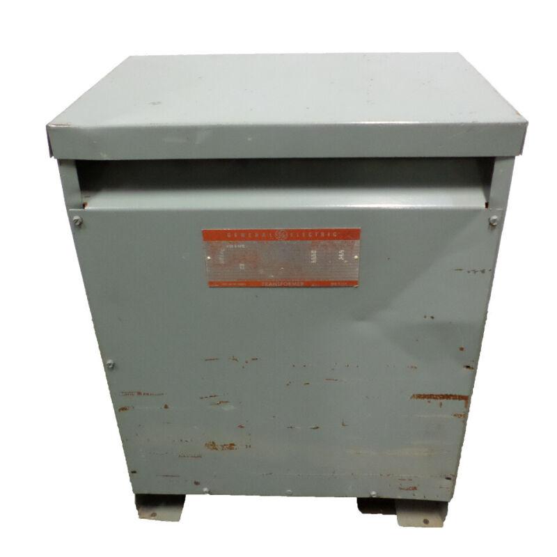 General Electric Step Down Transformer 30 KVA Model 9T23B3872  GE LV 208