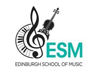Singing, Piano, Guitar, Violin, Drums, Flute lessons with Edinburgh School of Music