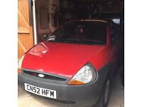 Red Ford KA 02 ( 2 owners )