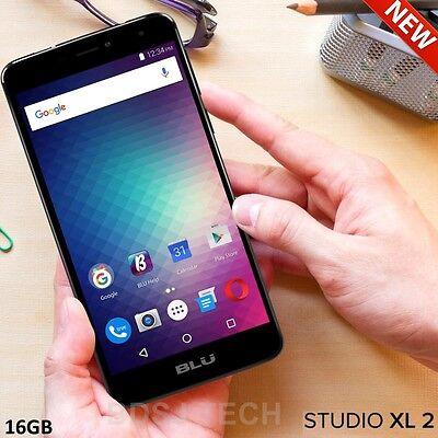 BLU Studio XL 2 LTE (16GB) 6.0 HD 4G 13MP Dual SIM Android UNLOCKED S0270U BLACK