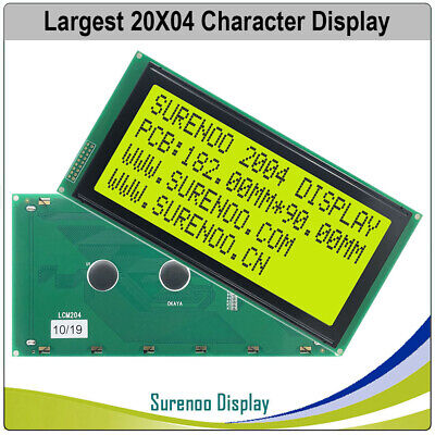 180.0x90.0mm Largest 2004 204 Character Lcd Module Display Screen Panel Lcm