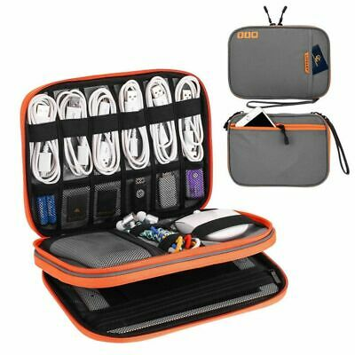 Portable Electronic Accessories Travel Case Cable Organizer Bag Cables Power USB