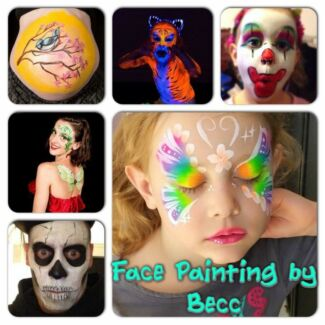 Face Painting by Becc