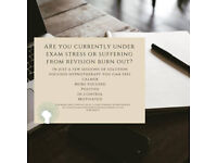 Are you suffering from exam stress? Why not try hypnotherapy to help!