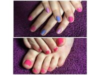 CND Shellac Manicure or Pedicure
