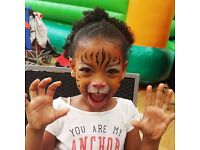 INSURED AND RELIABLE FACE PAINTING/ GLITTER TATTOOS/ FACE PAINTER/ SPECIAL EFFECTS MAKEUP IN LONDON