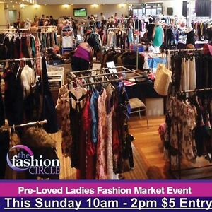 Preloved Ladies Fashion Market Event - The Fashion Circle Maitland Maitland Area Preview