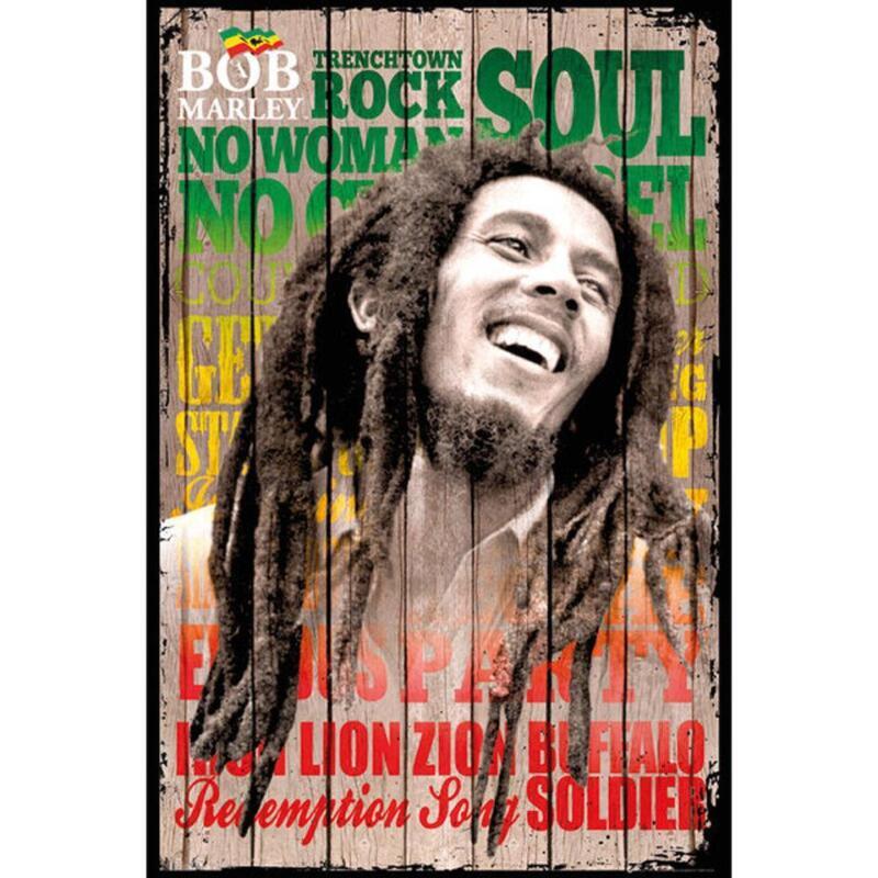 Bob Marley Poster | eBay
