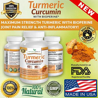 Best Extra Strength Turmeric Curcumin With Bioperine Black Pepper Extract Pills