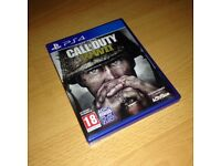 Call Of Duty WW2 PS4. Excellent condition.