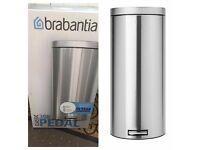 Brand new 30L stainless steel bin