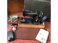 Singer Sewing Machine, Made August 1957. £50