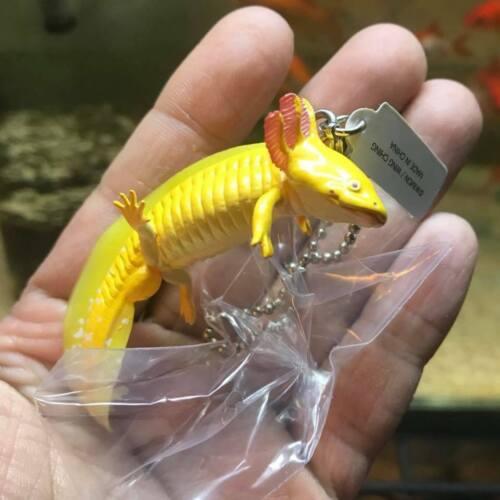 Japan Axolotl Mexican salamander PVC mini figure figurine Model Keychain D