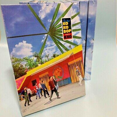 EXO [KOKOBOP] 4th Album A Ver. CD+Photo Book+Photo Card