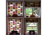 2 X John Lewis Roman blinds