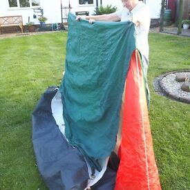 VINTAGE LICHFIELD OZZIE 3 BACKPACKING TENT CLASSIC CAMPING LICHFIELD COMBAT 1