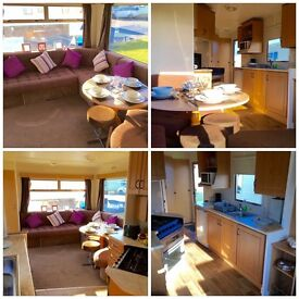 CHEAP STATIC STARTER CARAVAN FOR SALE AT SANDY BAY, 2017 SIE FEES INCLUDED