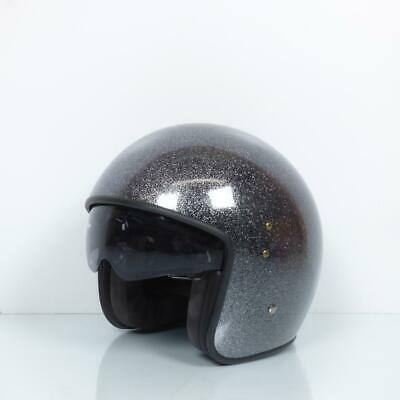 Helmet UP Motorrad UP Size L Smart glitter black New