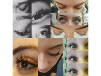 Mobile eyelash extension technician
