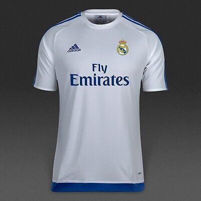 e4c25876 RONALDO 7 BALE 11 BENZEMA 9 adidas REAL MADRID Boys Kids Jersey t-shirt