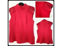 Karen Millen ladies sleveless top size 14