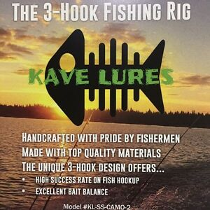 The New Rig to Ice Fishing - get your 3 Hook Rig