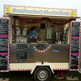 Mobile catering unit with established events in place. Fully stocked ready to go.