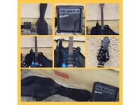 Electric Guitar and Amplifier (suitable for begginers)