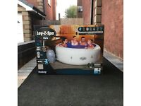 Lay Z Spa Paris Hot Tub 6 Person Lazy Inflatable NEW (Like Vegas Helsinki Cancun St Moritz)