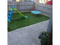 THE WINTER GARDEN ARTIFICIAL GRASS 18mm grass NOW £9.99 Sqm