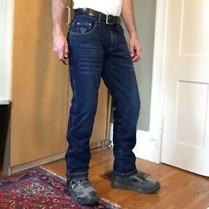 Armored motorcycle jeans armoured Bull-It Laser 4