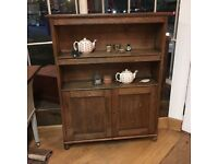 Antique bookcase cupboard