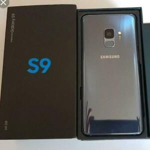Samsung S9 & S9 + Plus 64GB CANADIAN UNLOCKED NEW CONDITION WITH ALL BRAND NEW ACCESSORIES 90 DAYS WARRANTY INCLUDED