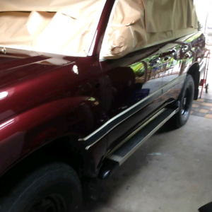 Caravan and car polishing and paint repairs