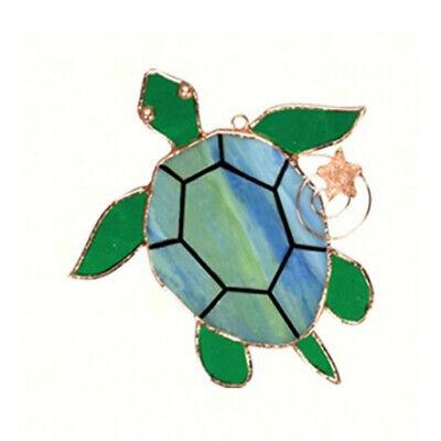STAINED GLASS SEA TURTLE SUNCATCHER SUN CATCHER GE229 FAST SHIP