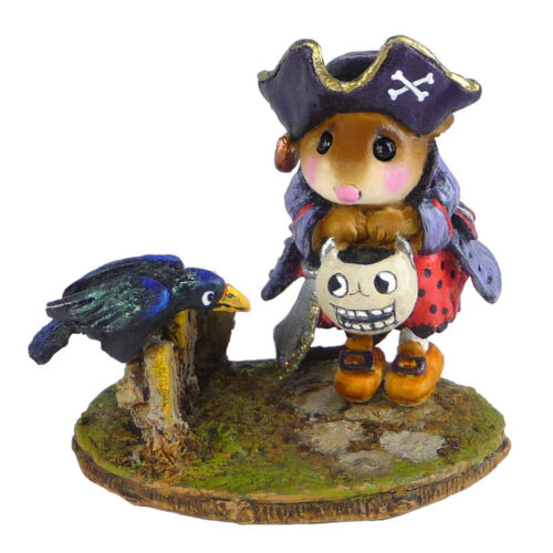 Wee Forest Folk M-532 Curious Crow- Retired