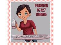 Jaksironing service lady iron ironing Cherrybrook paignton laundry cleaner cleaning