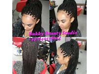 Professional Afro-Caribbean Asian & European hairdressing and beauty in Harlow