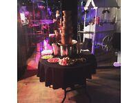 Candy floss, Popcorn, Chocolate Fountain, Slush, Sweet Cart, Nacho Machine, & much more.