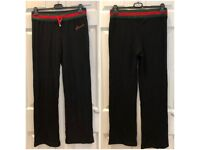 4e8b7f7d2 GUCCI Tracksuit bottoms Womens Jersey 95% Cotton Size 40-Made in Italy