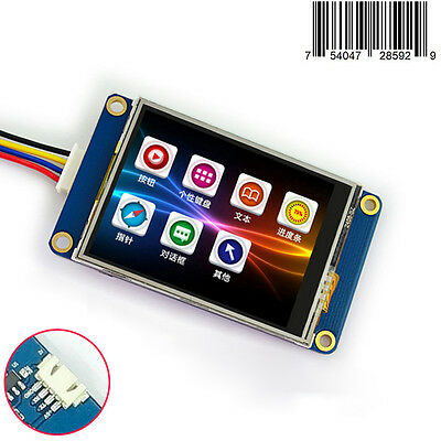2.4 Hmi Intelligent Smart Usart Serial Tft Lcd Module Display W Touch Panel