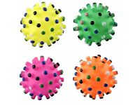Pet squeaky toy ball