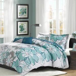 Allison Duvet Cover Set by Mi-Zone FULL/QUEEN NEW!