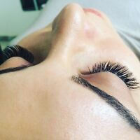 EYELASH EXTENSIONS Full SET 60$