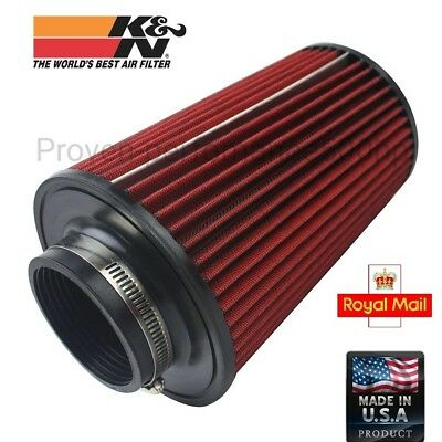 "K&N Large universal air filter 3"" 76MM K and N performance long big"