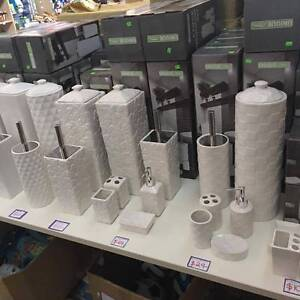 Bathroom Toilet Accesories Toilet Brush Paper Holder Soap Dish Glen Waverley Monash Area Preview